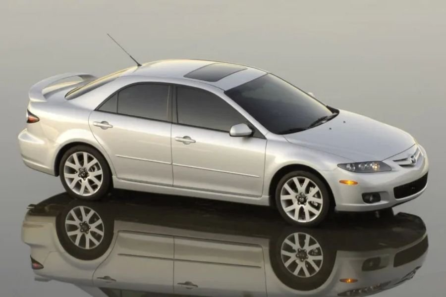 A picture of the Mazda 6