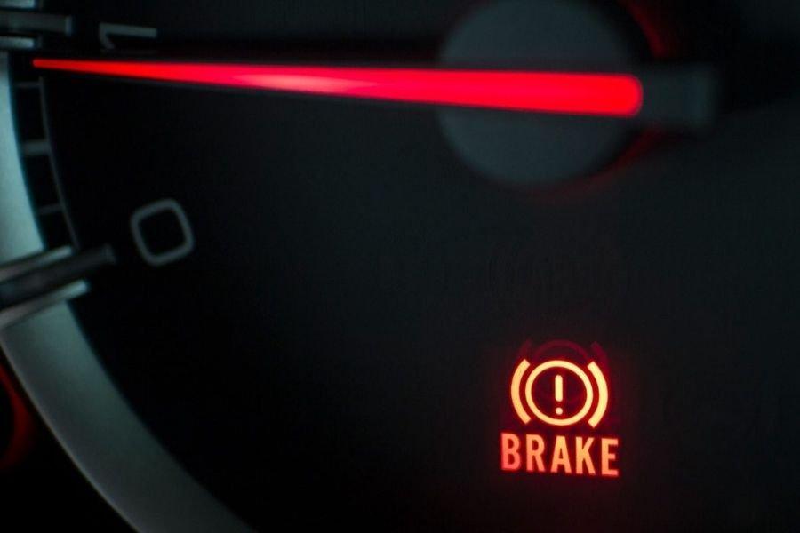 An illuminated brake light