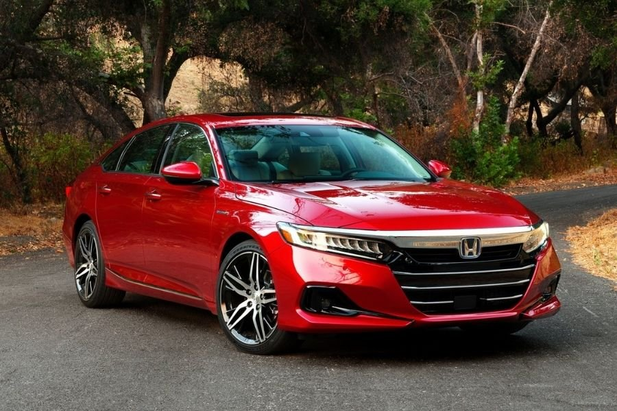 A Picture of the Honda Accord US-spec