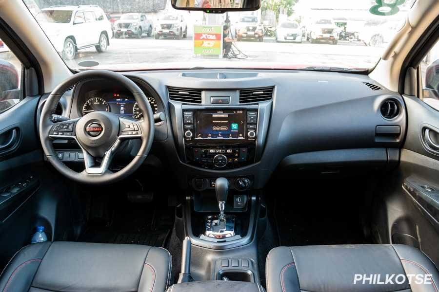 A picture of the interior of the Nissan PRO-4X