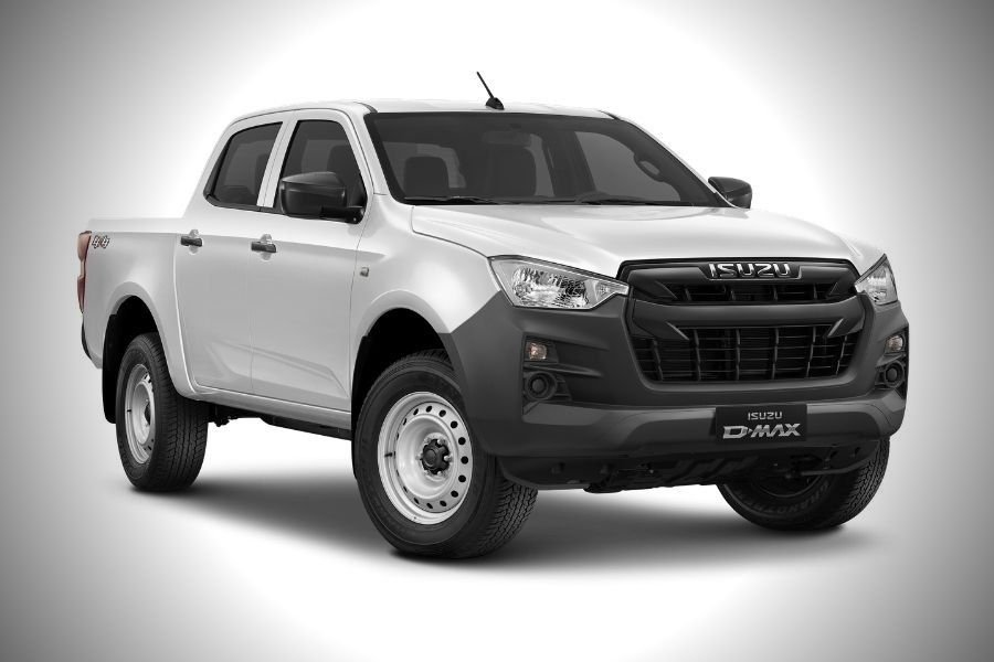 A picture of the Isuzu D-Max LT in white