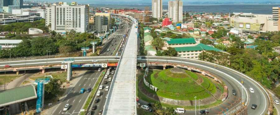 Skyway Extension overhead view