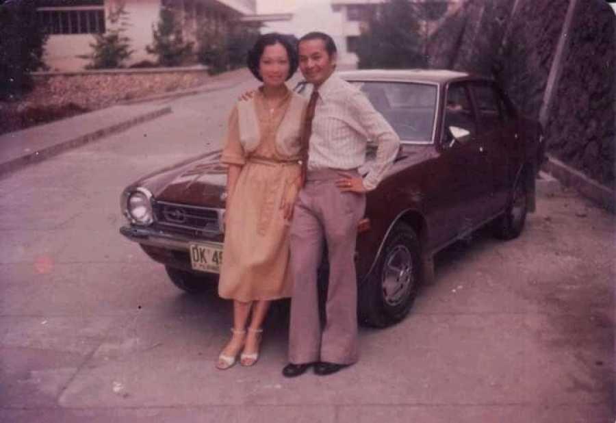 Ian Reyes grand parents
