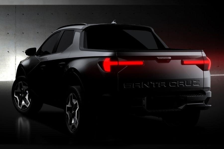 Hyundai Santa Cruz concept rear teaser