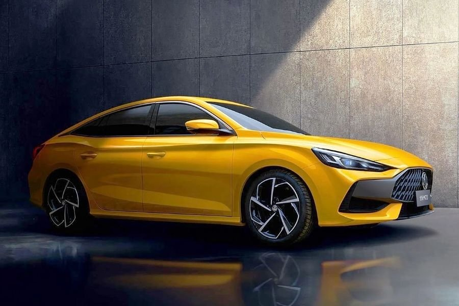 A picture of the 2021 MG5 sedan