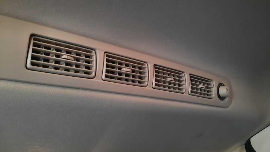 Second-row vent