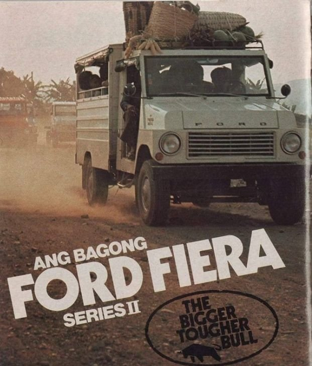 A picture of a Ford Fiera II promotional poster