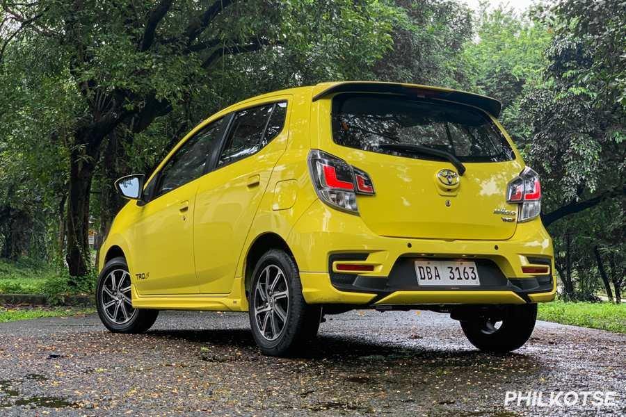 Toyota Wigo rear