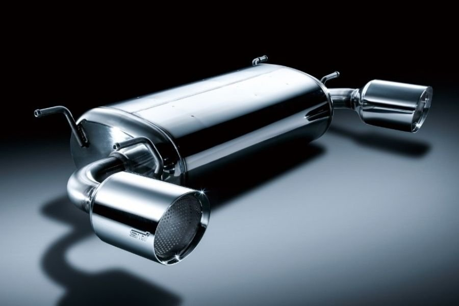 A picture of the STI muffler system for the BRZ