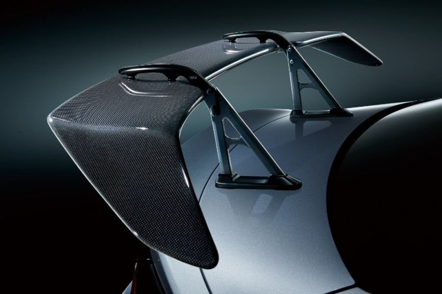 A picture of the STI genuine wing