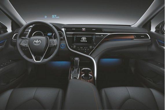 Toyota Camry interior view