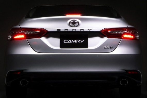 Toyota Camry rear end view
