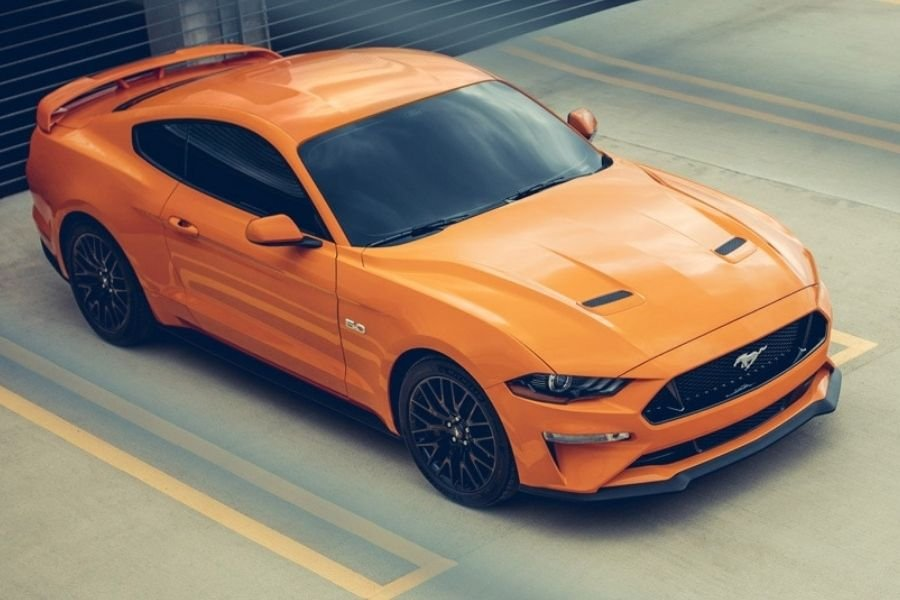 A picture of the Philippine-spec Ford Mustang 5.0 V8