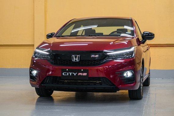Honda City front view