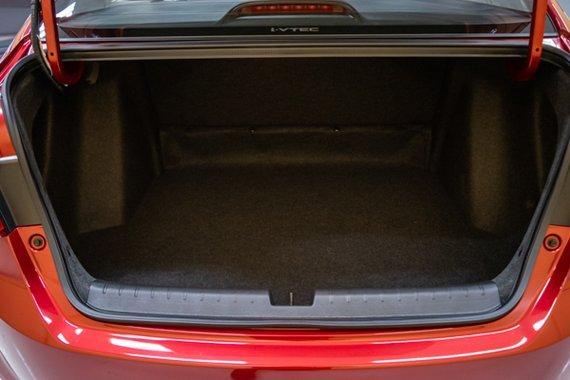 Honda City trunk view