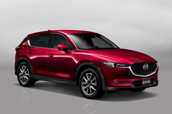 Mazda CX-5 angular front