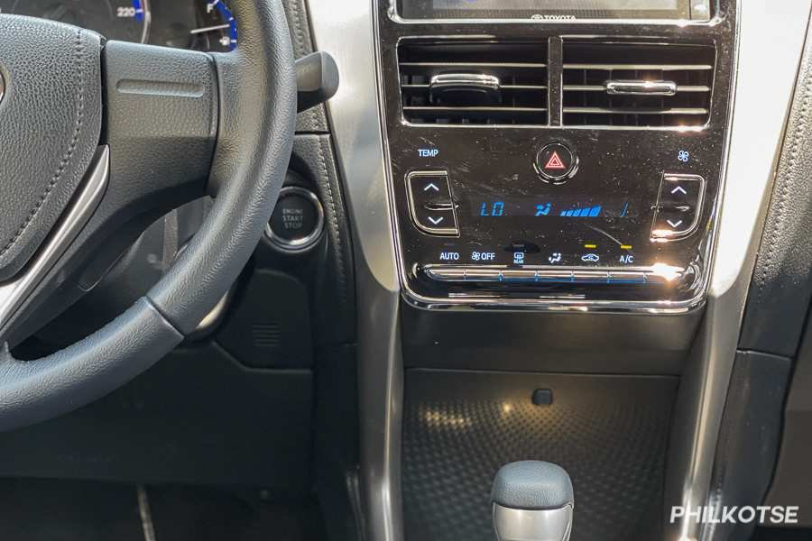 A picture of the Vios G's cockpit from another angle