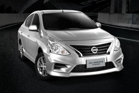 Nissan Almera N-Sport front view