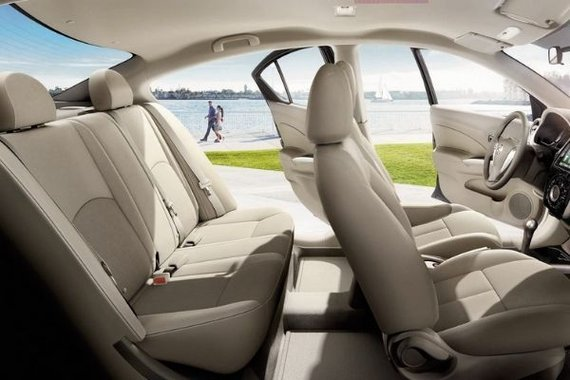 Nissan Almera interior view
