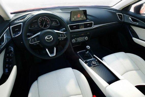Mazda3 interior view