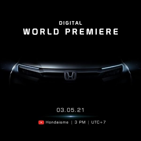 A picture of the Honda global premier on May 3
