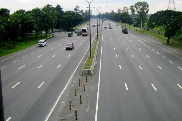 An expressway in the Philippines