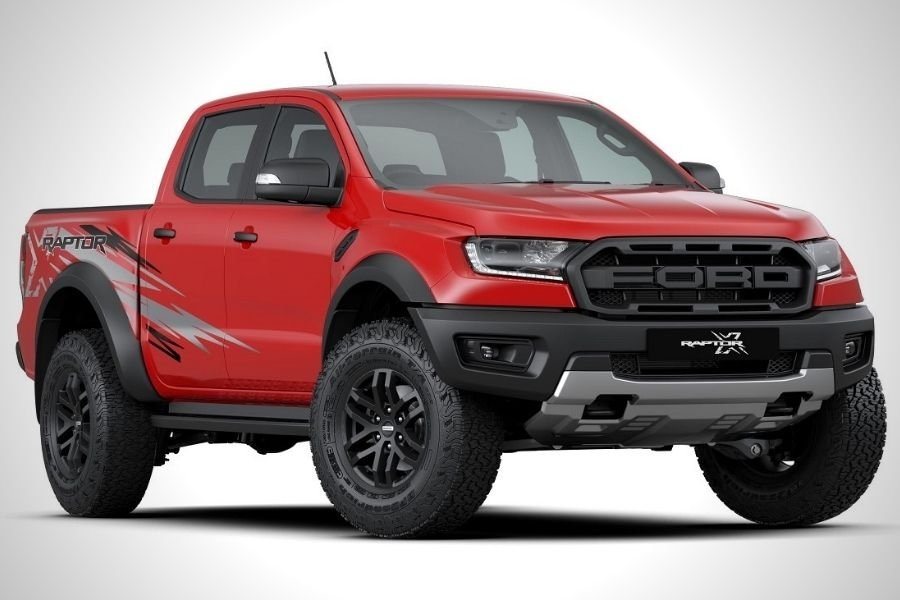 Ford Ranger Raptor X Malaysian-spec front