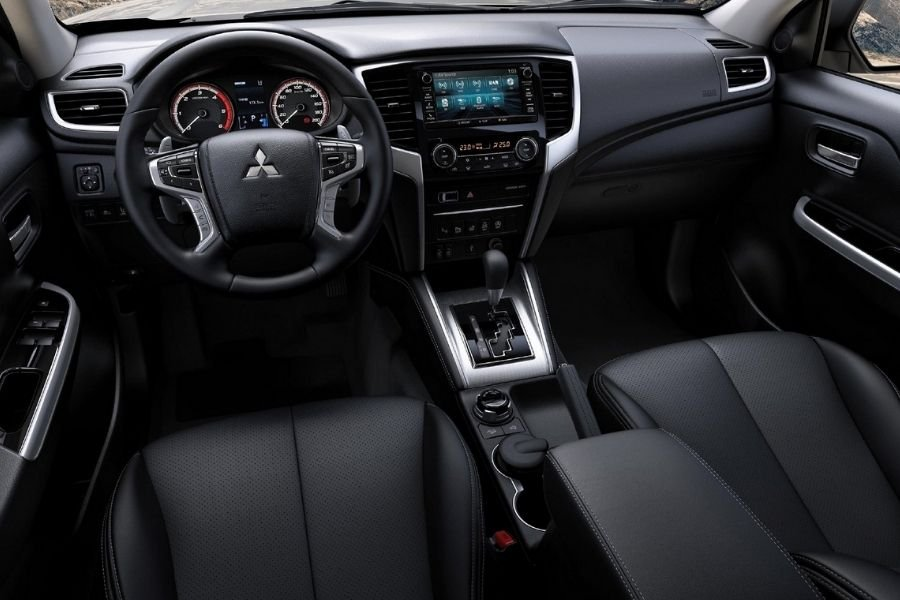 A picture of the interior of the Strada GLS