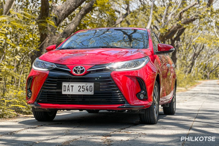 Toyota Vios front view