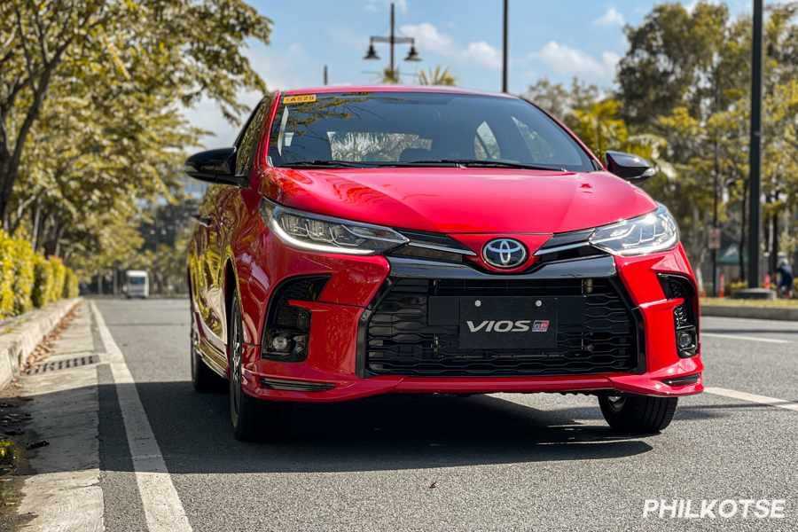 A picture of the Toyota Vios GR-S
