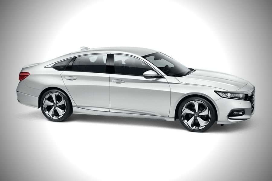 A picture of the Honda Accord from the side