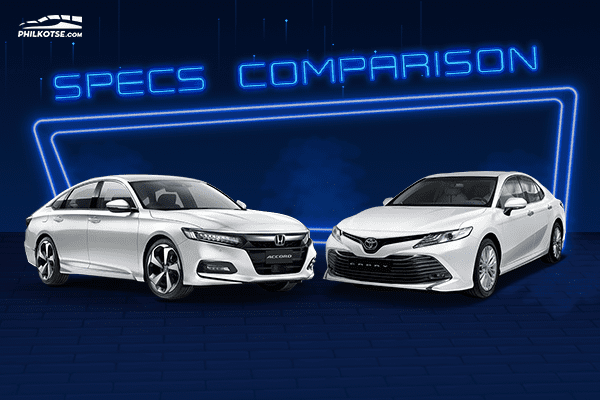 The Toyota Camry and the Honda Accord head to head