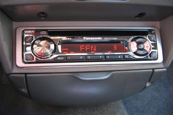A single DIN stereo