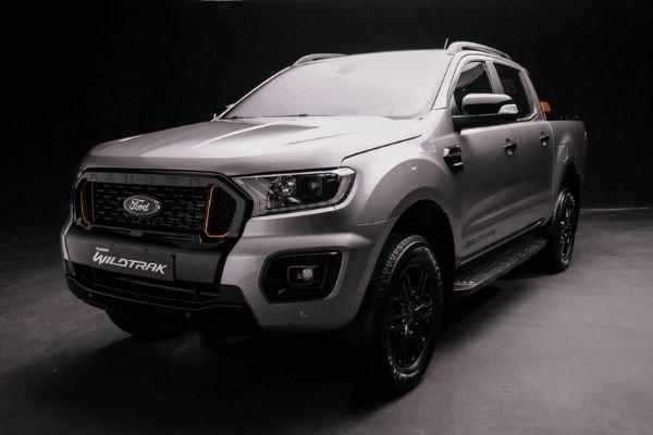 2021 Ford Ranger front