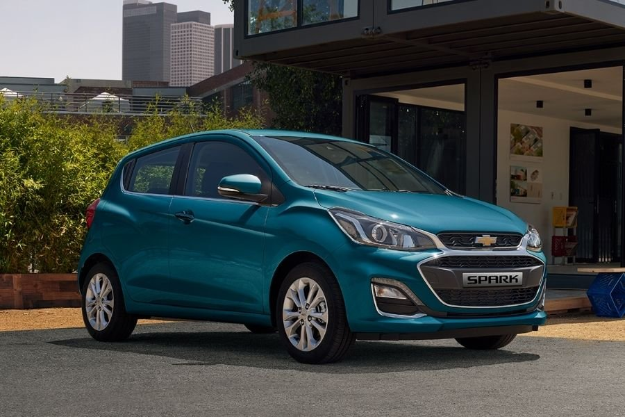 Chevrolet Spark front view