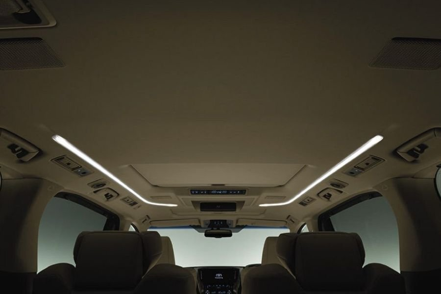 Toyota Alphard interior view