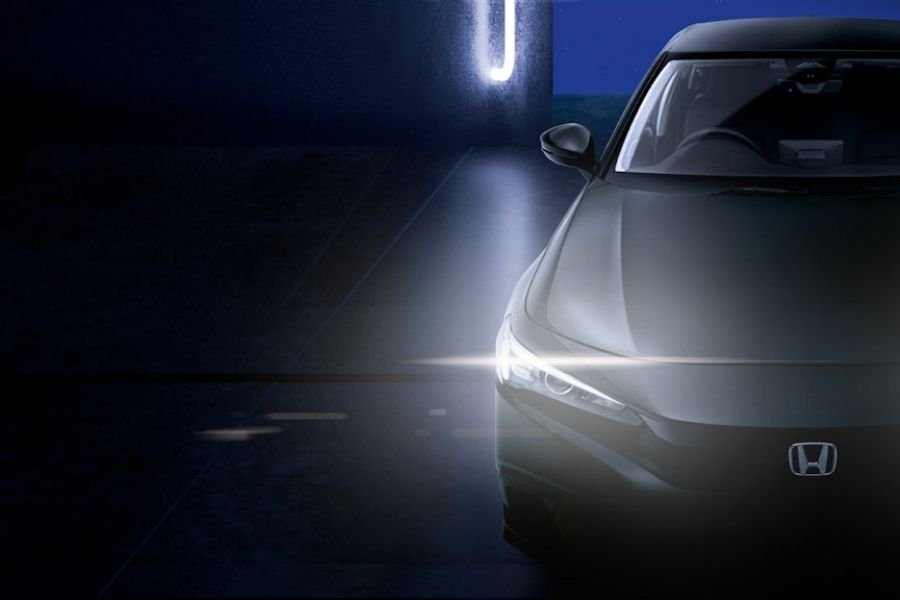 A picture of the teaser for the ASEAN-spec Civic