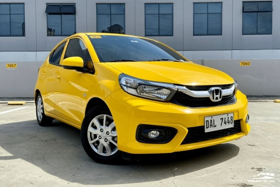 A picture of the Honda Brio V variant