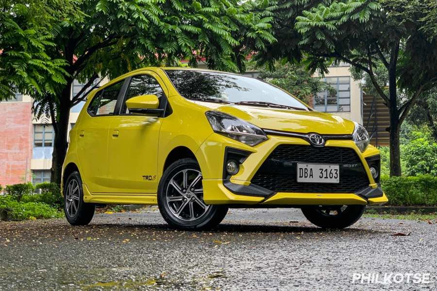A picture of the Toyota Wigo TRD S variant