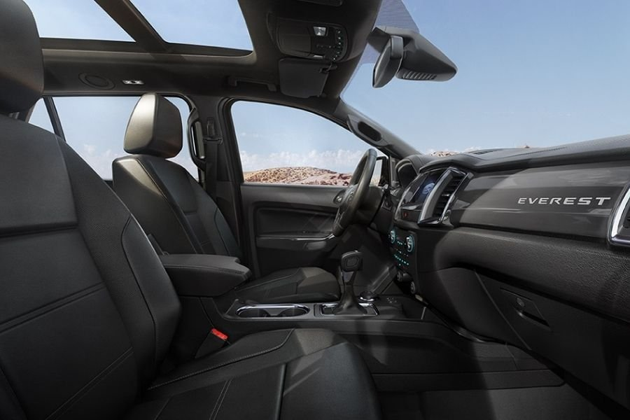 Ford Everest interior view