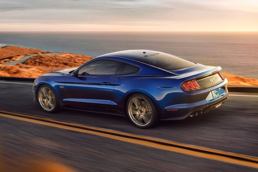 Ford Mustang rear view
