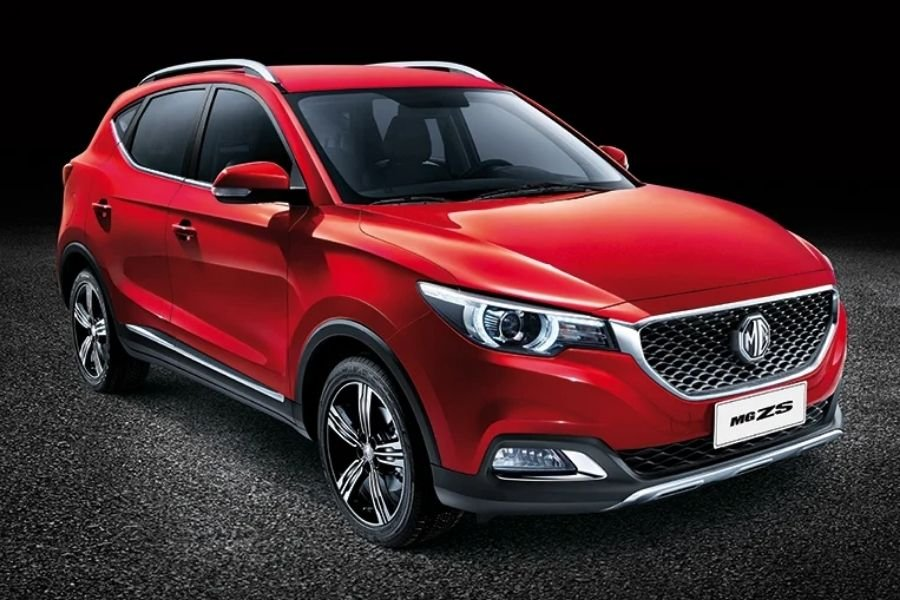 A picture of the MG ZS crossover