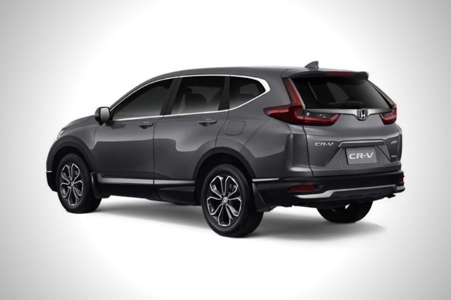 A picture of the CR-V SX's rear end