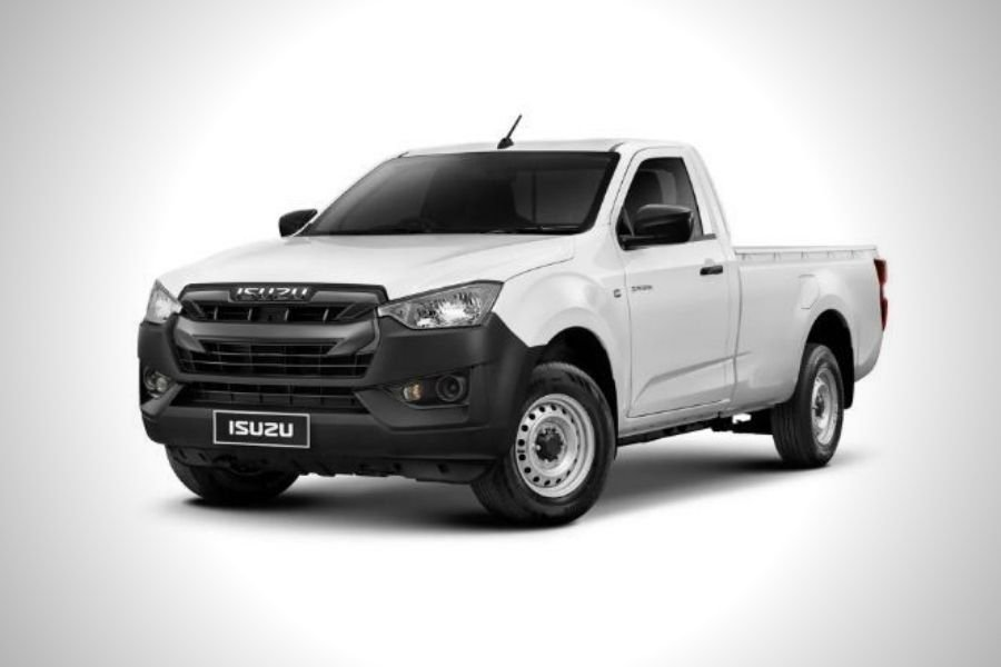 A picture of the 2021 Isuzu D-Max Single Cab