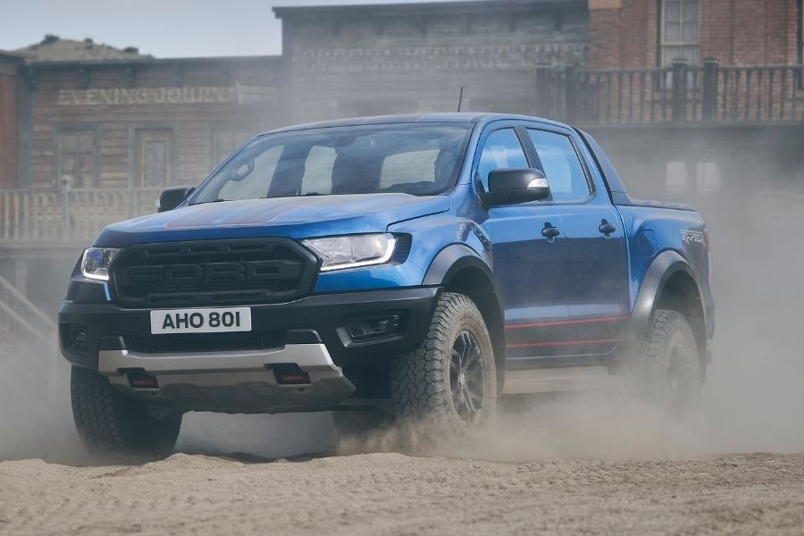 Ford Ranger Raptor Special Edition front view