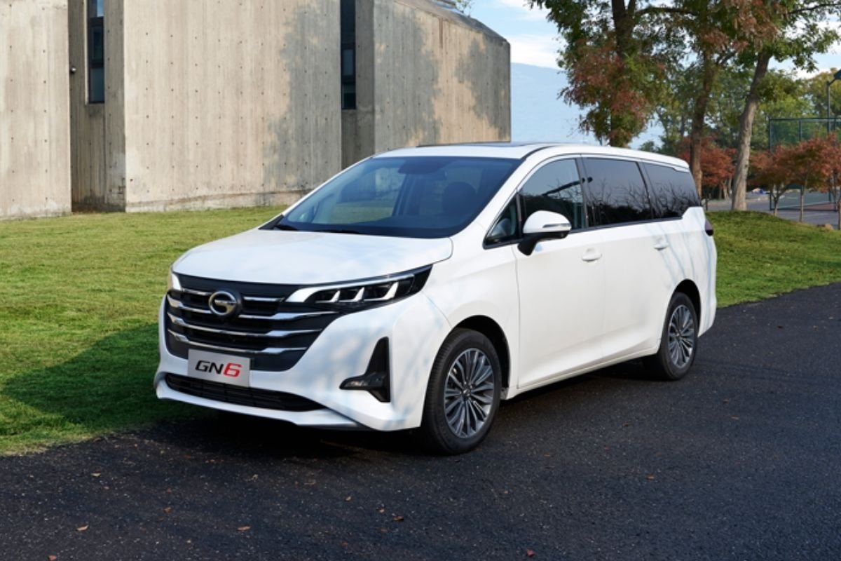 2021 GAC GN6 front