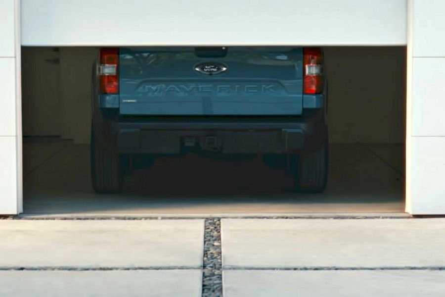Ford Maverick rear view
