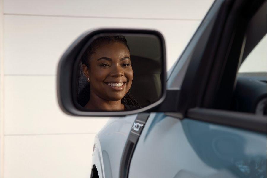 Gabrielle Union in Ford Maverick