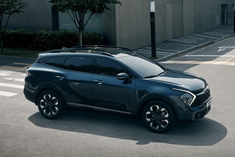 A picture of the new Kia Sportage