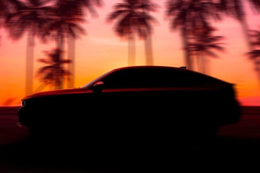 2022 Honda Civic Hatchback teaser